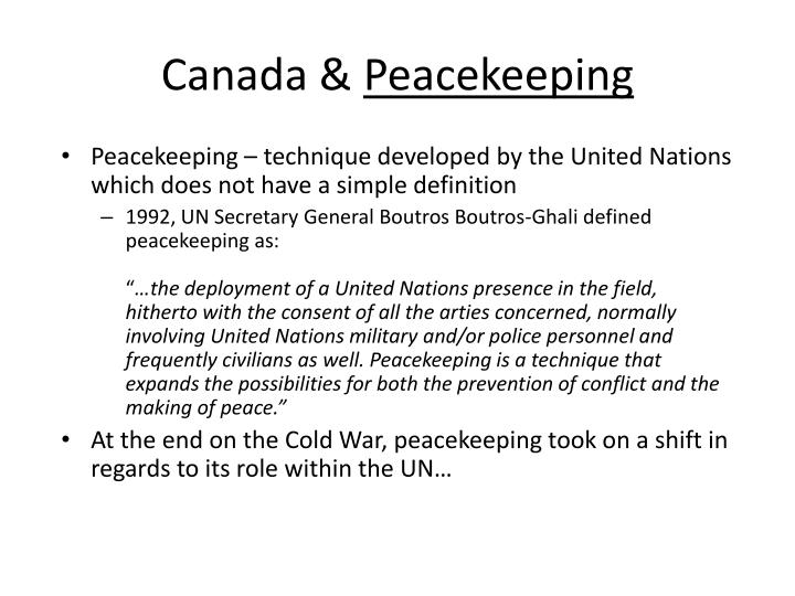 should canada be involved in international conflicts How should we respond to canada becoming more involved in international affairs (explore the issue of whether canada should be more involved ininternational affairs) even if you live in another country, whats your opinion on your own country being involved.