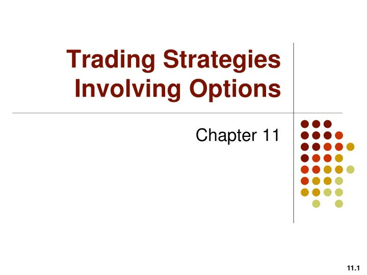 chapter 11 trading strategies involving options solution