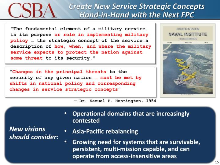 Create New Service Strategic Concepts