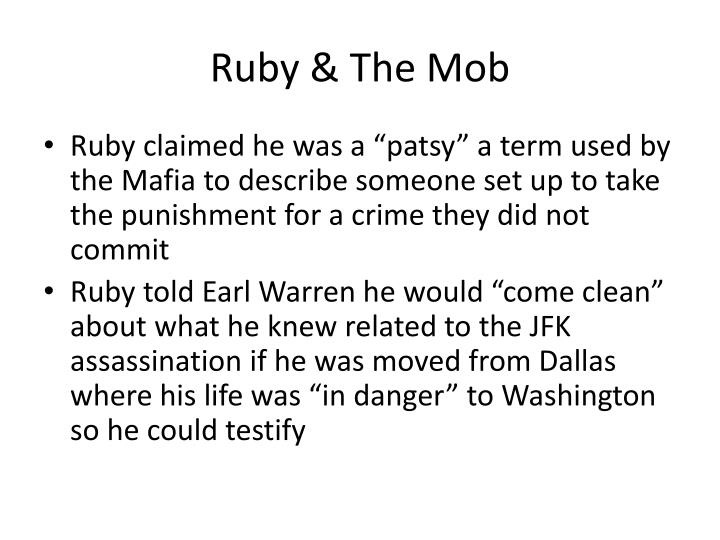Ruby the mob
