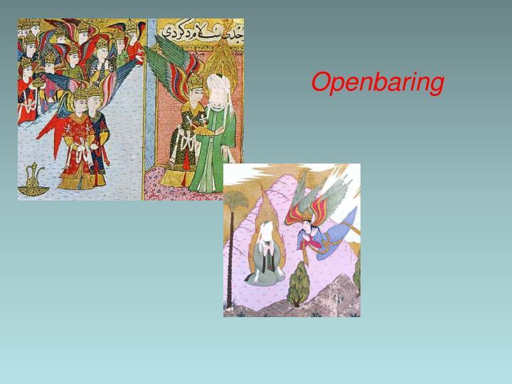 Openbaring