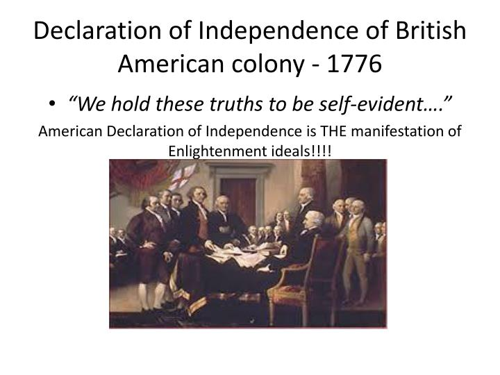 what type of essay is the declaration of independence The declaration of independence, written by thomas jefferson and adopted by the second continental congress, states the reasons the british colonies of north america this is the statement also found in the declaration of independence itself and is, in my opinion, the thing that makes.