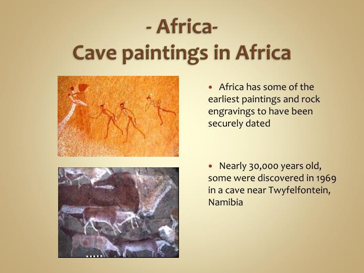 - Africa-