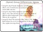 spiral group differences jigsaw