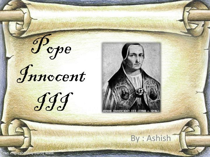 pope innocent iii n.