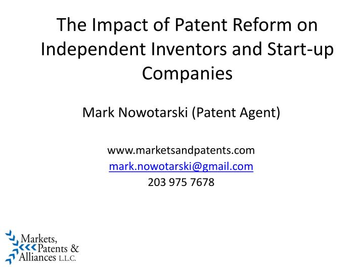 impact of product patent The impact of us patents on international business a us patent can impact the supply of the product itself the us patent holder may request.