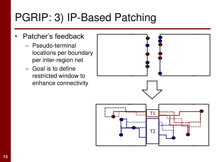 PGRIP: 3) IP-Based Patching