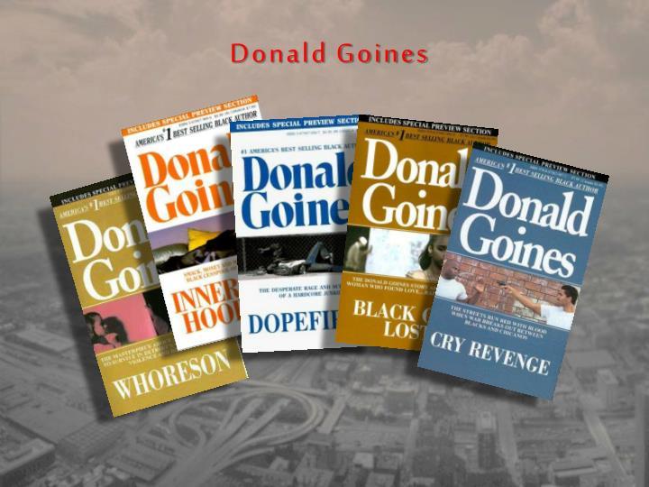 Donald Goines