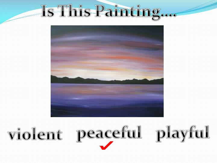 Is This Painting….