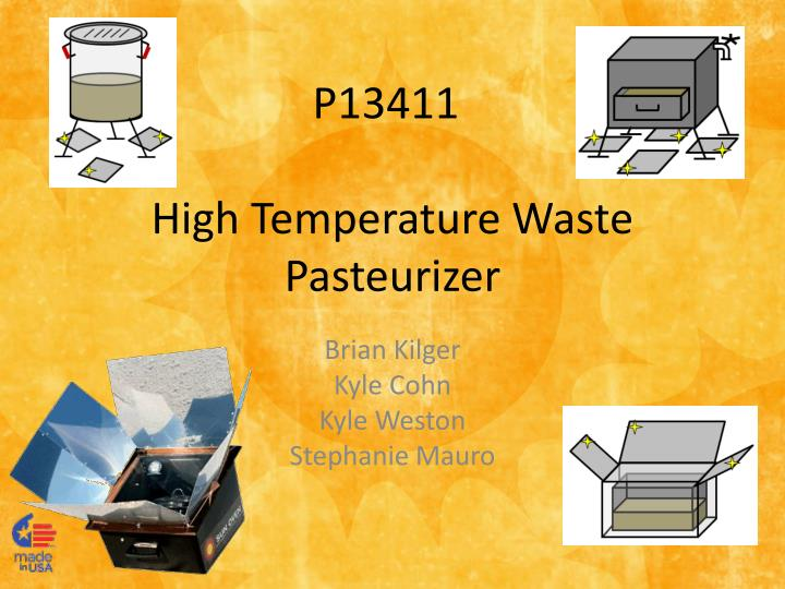 high temperature waste pasteurizer n.