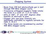 chopping system