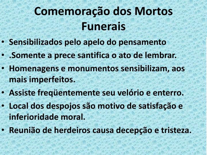 Comemoração dos Mortos