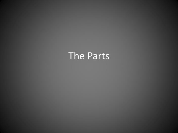 the parts n.