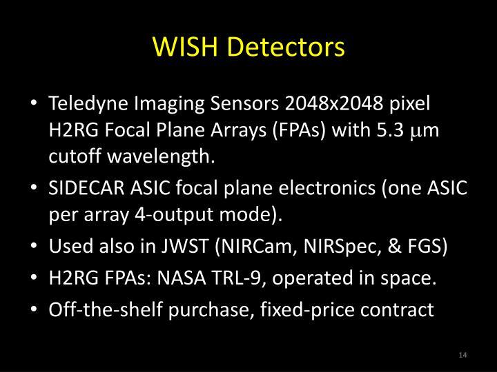 WISH Detectors