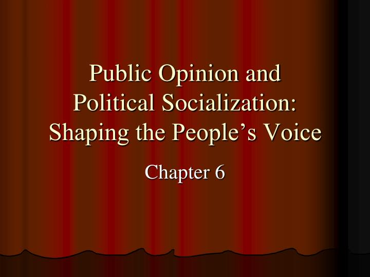 public opinion and policy Public opinion can have various effects on how policy is made or viewed marcus hobley sifts through the sometimes troubled relationship.