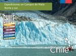 expediciones en campos de hielo norte y sur