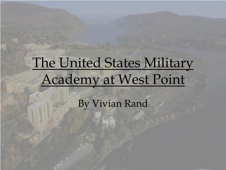 the united states military academy at west point n.