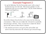 example fragment 2