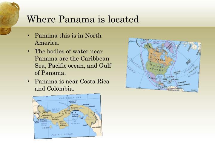 Where panama is located