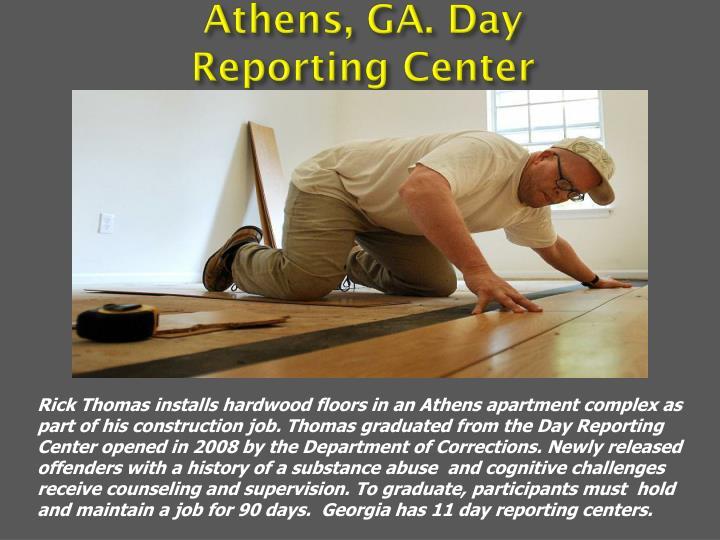 Athens, GA. Day