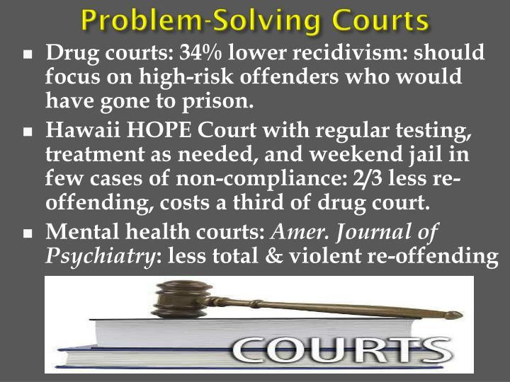 Problem-Solving Courts