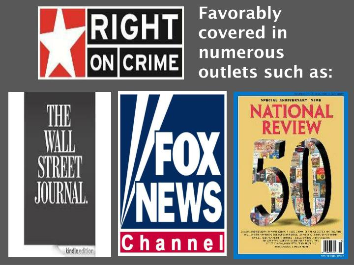 Favorably covered in numerous outlets such as: