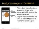 design strategies of cammina