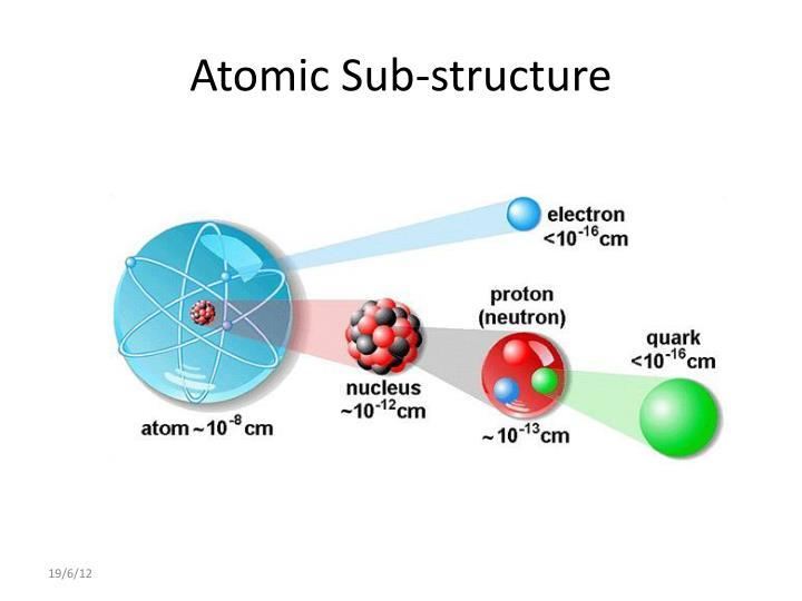 Atomic sub structure