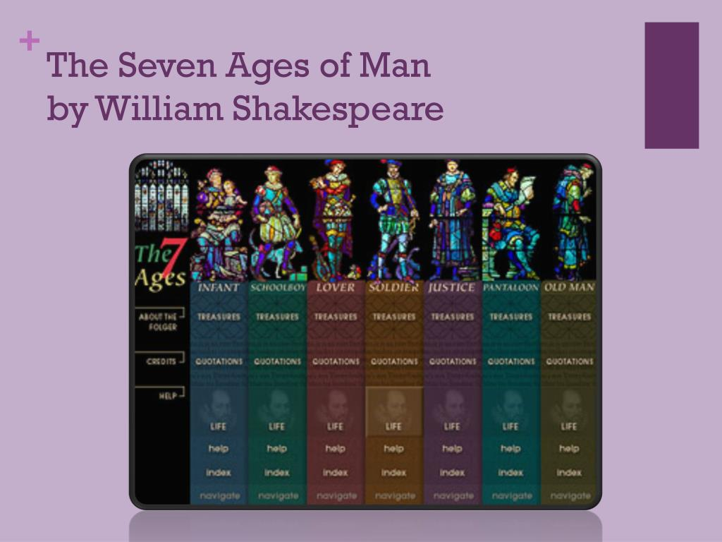 shakespeares seven ages of man