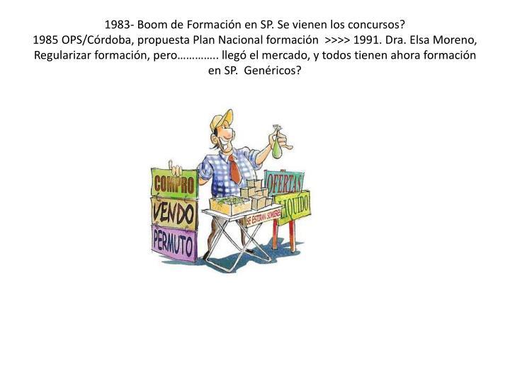 1983- Boom de