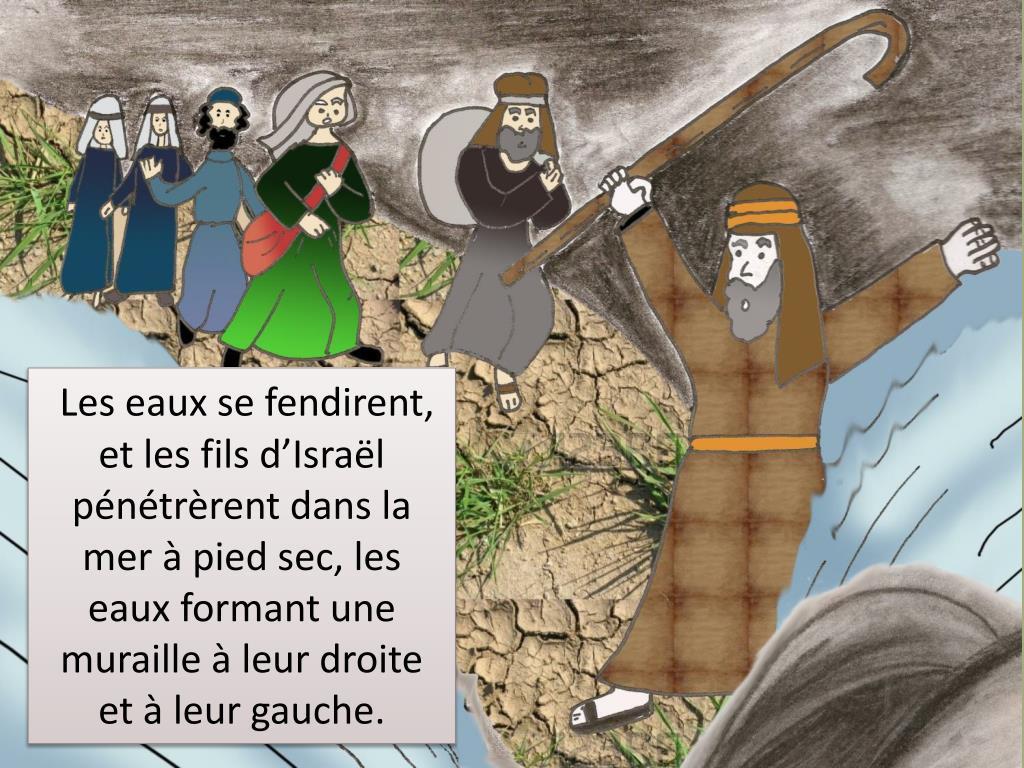 PPT - Libération d'Israël par le passage de la Mer Rouge PowerPoint  Presentation - ID:1945664