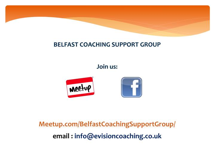 BELFAST COACHING SUPPORT GROUP
