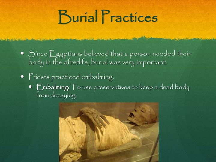 Burial Practices