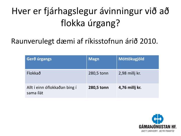 Hver er fjárhagslegur ávinningur við að flokka úrgang?