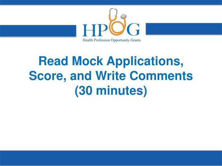 Read Mock