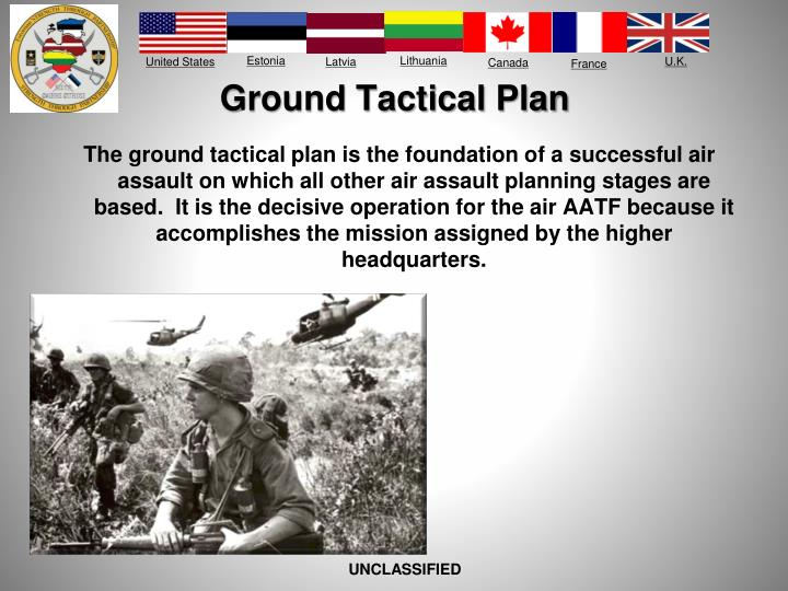 Ground Tactical Plan