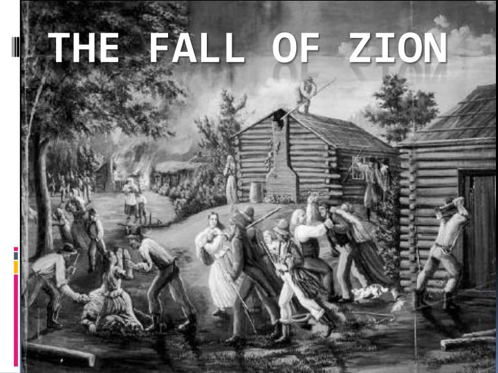 the fall of zion n.
