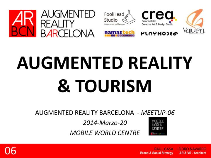 augmented reality tourism n.