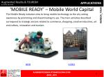 mobile ready mobile world capital