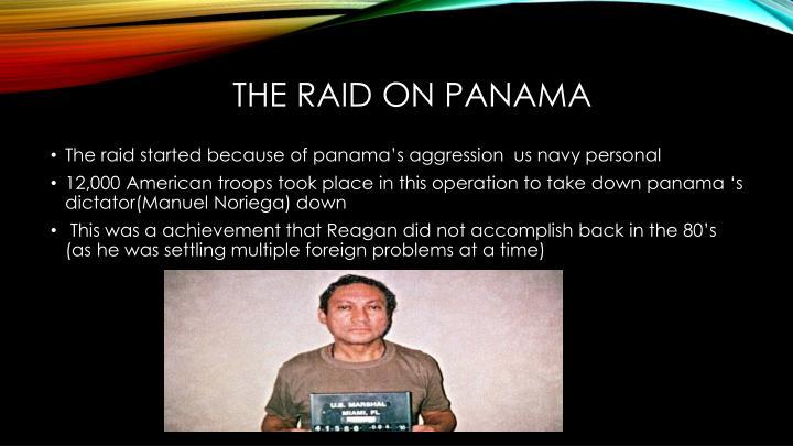 The Raid on panama