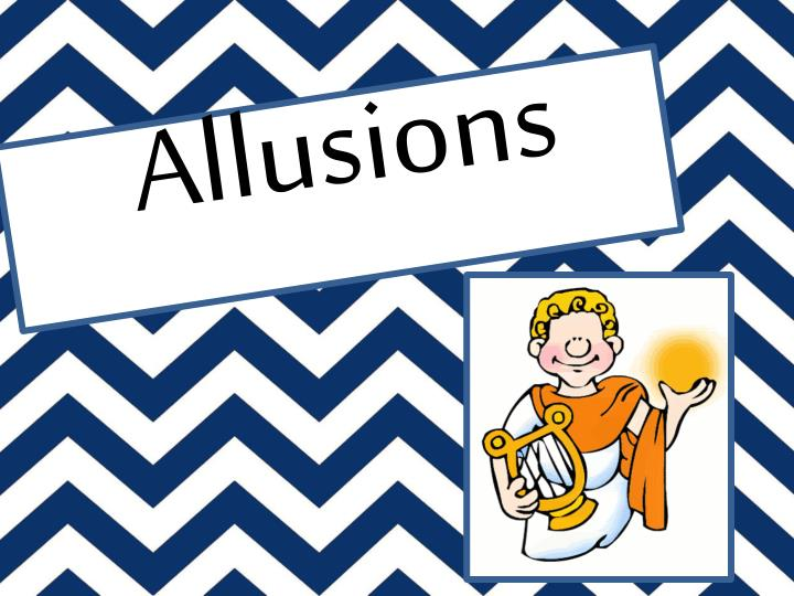 Ppt Allusions Powerpoint Presentation Id1947986