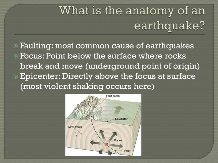 Ppt Anatomy Of An Earthquake Powerpoint Presentation Id1948187