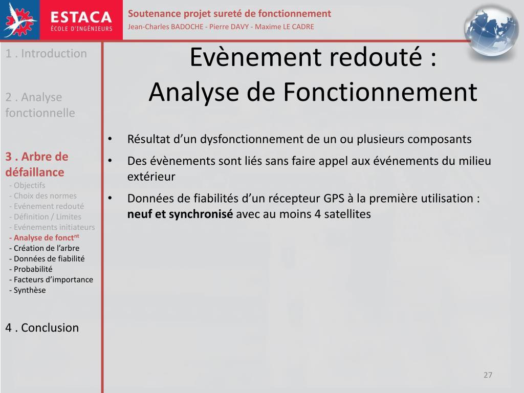 Ppt Arbre De Defaillance D Un Gps Powerpoint Presentation Free Download Id 1948572