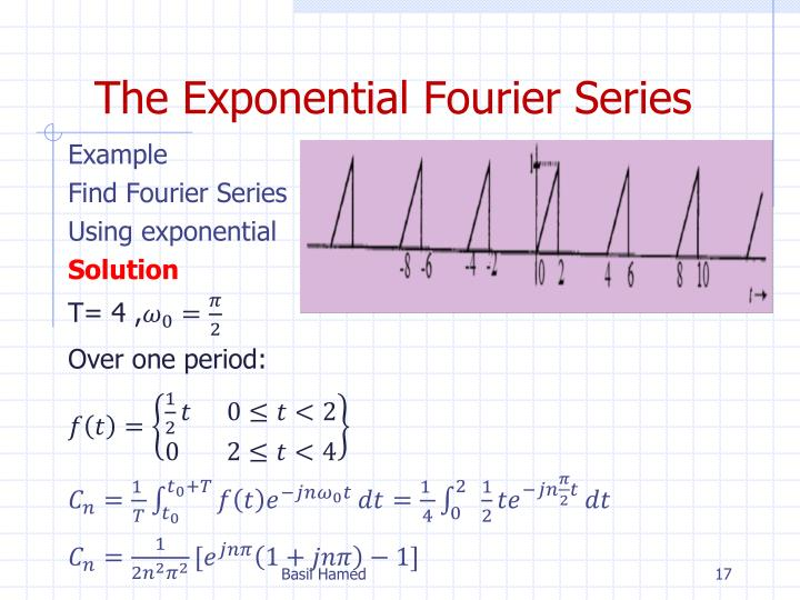 The Exponential Fourier Series