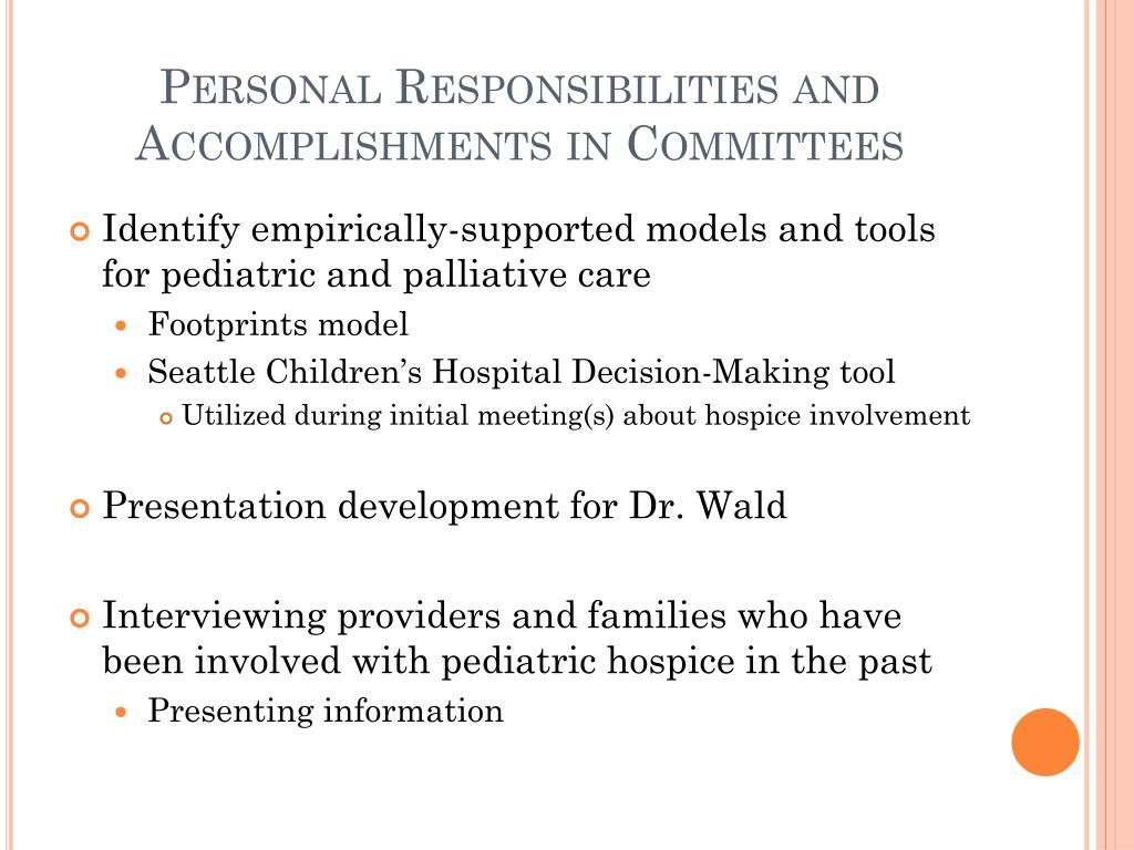 PPT - Developing a pediatric palliative care and hospice