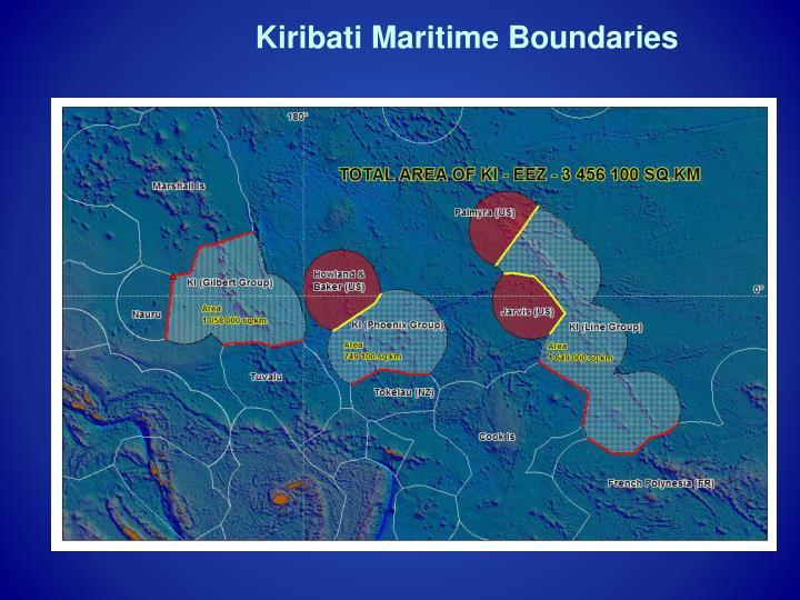 Kiribati Maritime Boundaries