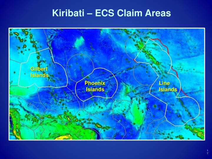 Kiribati – ECS Claim Areas
