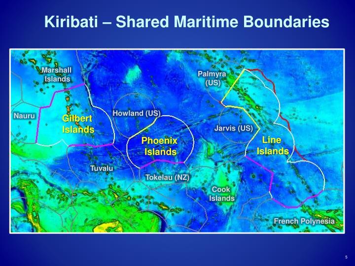 Kiribati – Shared Maritime Boundaries