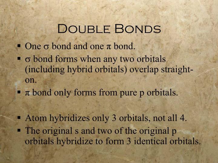 Double Bonds