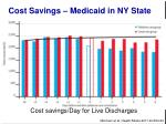 cost savings medicaid in ny state